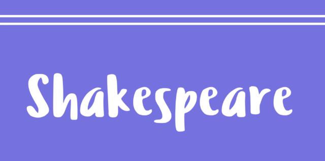 Diálogos en inglés 8 – Shakespeare