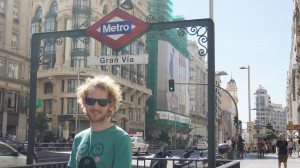 Phillip in Madrid