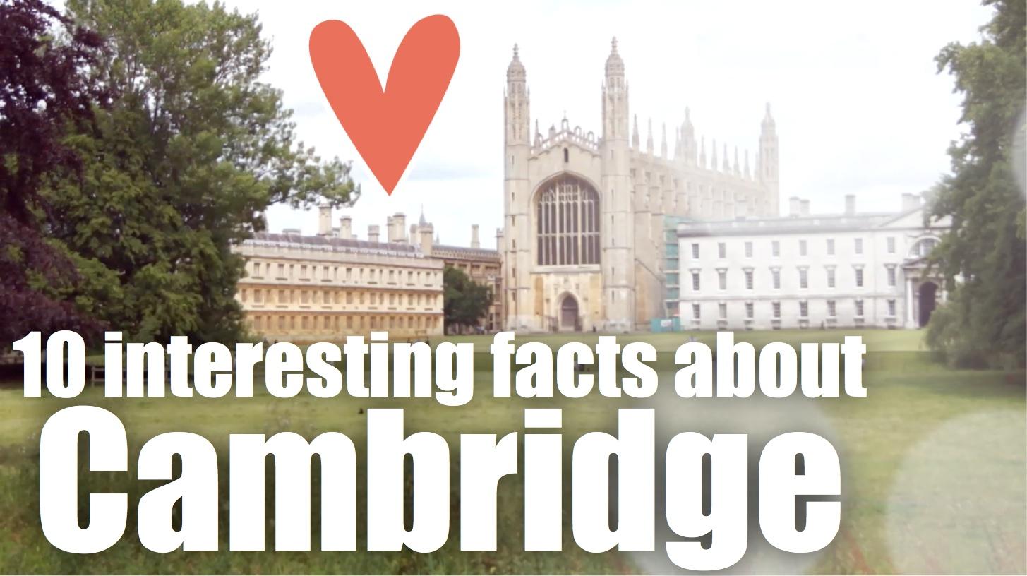 10 interesting facts about Cambridge – Aprende inglés online