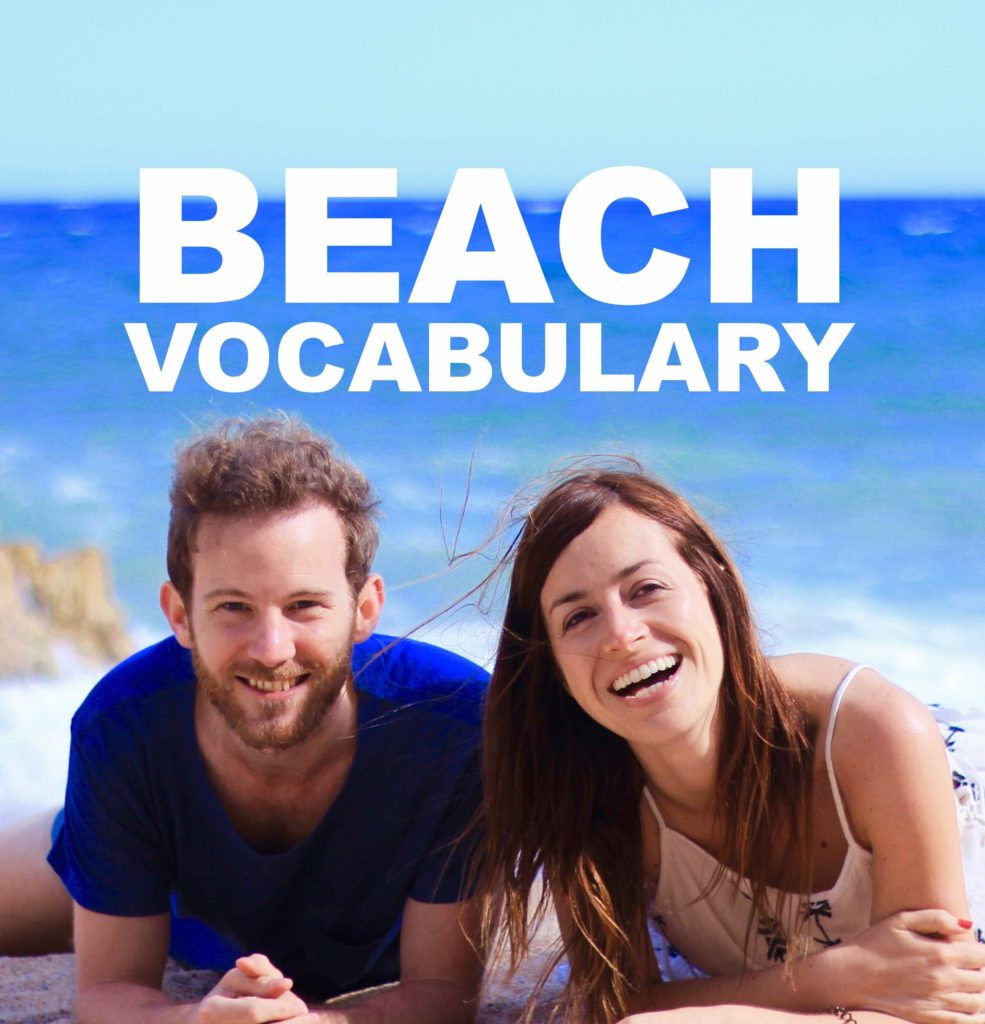 Beach Vocabulary in English