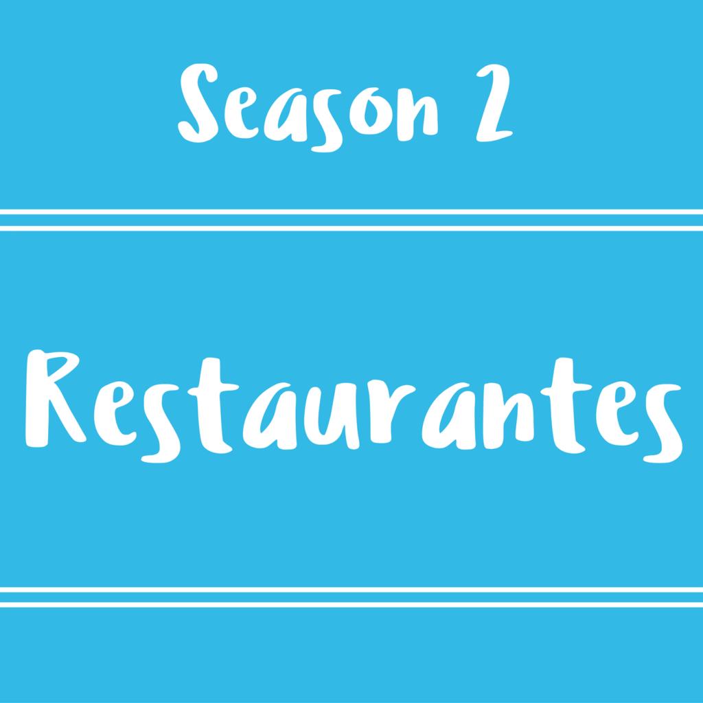 32 – Restaurantes – Diálogos en inglés
