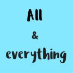 Diferencia entre 'All' & 'Everything' en inglés