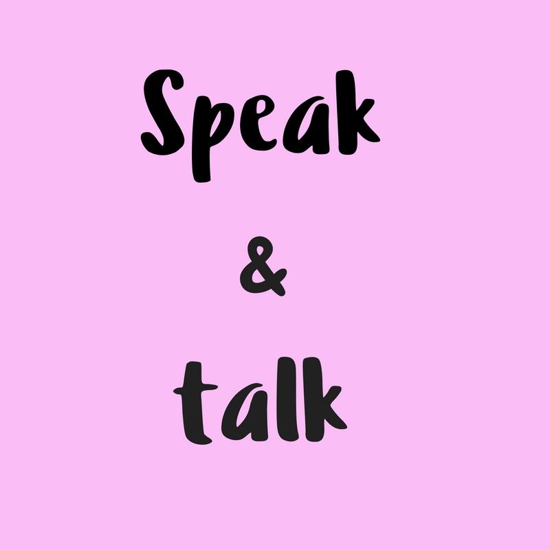 Diferencia entre 'Speak' & 'Talk' en inglés