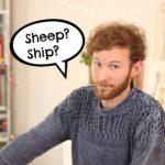 ¿Sabes pronunciar SHEEP & SHIP en inglés?
